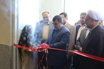 افتتاح کتابخانه عمومی اندیشه حضرت آیت الله خامنهای در بندرعباس