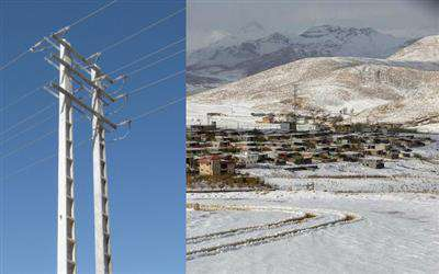 رفع عيوب شبكه هاي برق رساني  دهستان موگويي در شهرستان كوهرنگ