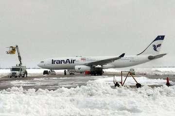 برگزاری تمرین عملیات زمستانی در فرودگاه مهرآباد