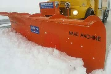 برگزاری تمرین عملیات زمستانی در فرودگاه شاهرود