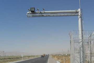 بهره برداری از ۱۱ سامانه ثبت تخلف در جاده های استان همدان
