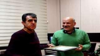 هیات مدیره سازمان نظام مهندسی کردستان از دکتر قناعت تجلیل کرد