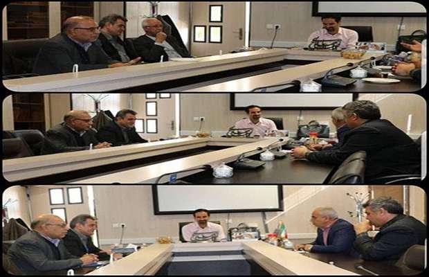 جلسه با بانک تجارت جهت ارائه خدمات بهتر به اعضاء سازمان
