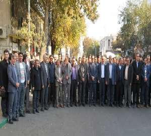 حضور پرسنل شرکت آبفار آذربایجان غربی در راهپیمایی ...