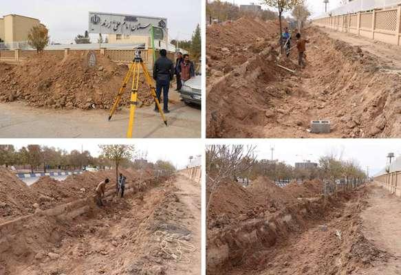 مهندس مهدلو شهردار زرنداز ساخت كانال هدایت آب در بلوار 9 دی خبر داد.