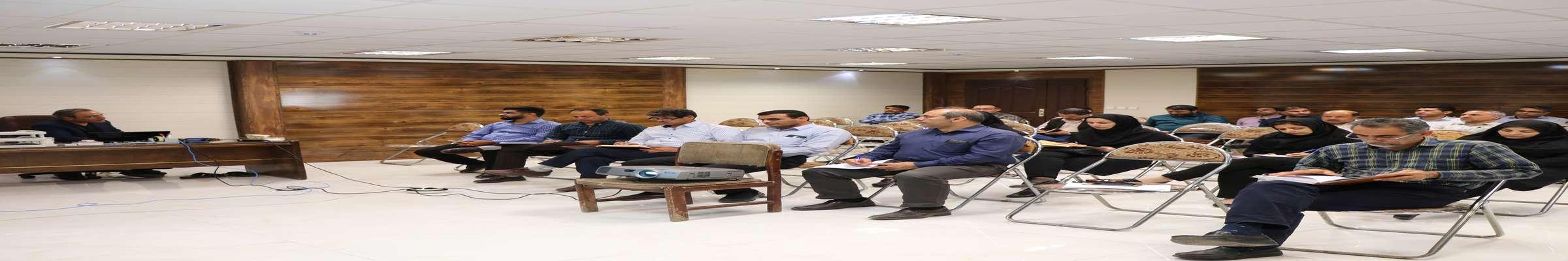 """برگزاری سمینار آموزشی"""" کاربرد سایتهای تخصصی در سنجش از دور"""" در شرکت آبیاری  کرخه و شاوور"""
