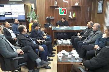 قرارگاه مرکزی حمل و نقل و راهداری زمستانی گلستان تشکیل شد