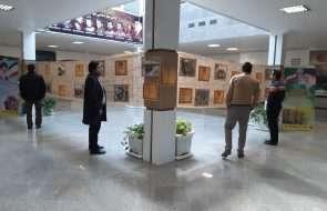 برگزاری نمایشگاه عکس هفته بسیج در امور آبفار سبزوار