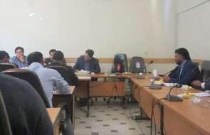 نشست سرپرست آبفار جوین با بخشدار و دهیاران بخش مرکزی شهرستان