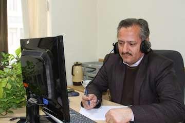 پاسخگویی تلفنی مدیرکل راه و شهرسازی استان اردبیل  به درخواستهای مردمی از طریق سامانه سامد