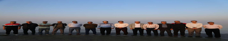 پیاده روی مدیران شركت توزیع نیروی برق استان بوشهر