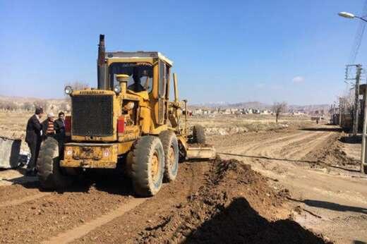 پروژه تعریض جاده آناخاتون در سال جاری انجام میشود