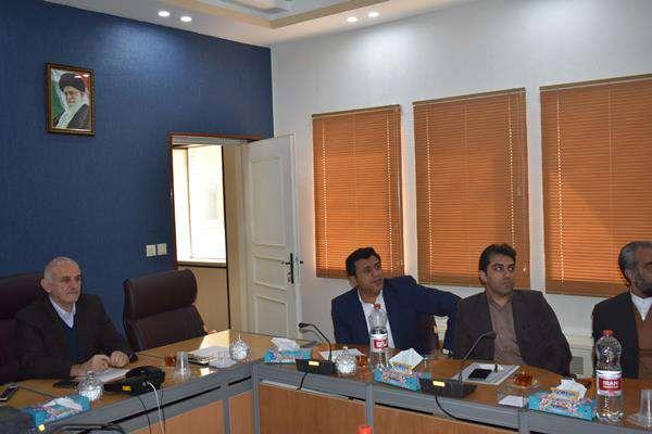 دیدار اعضای شورای پایگاه شهید سامعی با مدیرعامل در هفته بسیج
