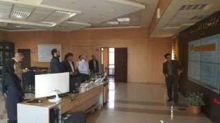 بازدید معاون راهبری شبکه برق کشور از مرکز کنترل شرکت برق منطقه ای زنجان