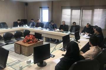 جلسه پیگیری راه های سطح استان خراسان شمالی برگزار شد