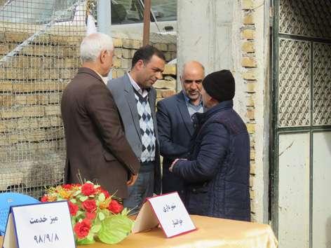 فعالیت میز خدمت همزمان با هفته بسیج با حضور شهردار و اعضای شورای اسلامی شهر خوانسار