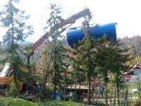 تقویت فشار آب شرب روستای چهل گاچه شهرستان سیاهكل