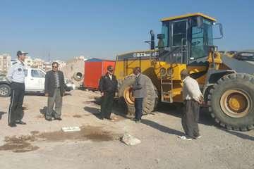 رفع تعرض به اراضی دولتی ۴۸۰۰ متر مربع دولتی