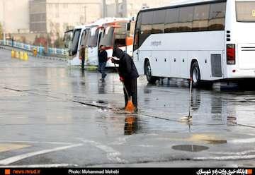 بازگشت برف و باران به کشور/ احتمال آبگرفتگی، سیلاب و لغزندگی جادهها