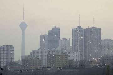 شاخص آلایندگی هوای تهران افزایش یافت/ ناسالم برای گروههای حساس