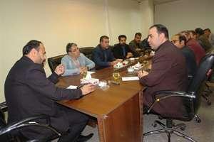 برگزاری نشست هم اندیشی انبوه سازان با مدیرکل راه و شهرسازی خراسان شمالی