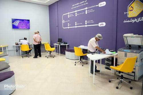 کاهش 9 ساعته زمان پاسخگویی در شهرداری الکترونیک منطقه 12