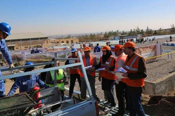 آبفا استان اصفهان مقتدرانه به مرحله کشوری مسابقات مهارتهای فنی و تخصصی بهره برداری شرکتهای آب و فاضلاب کشور راه یافت