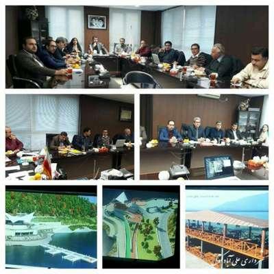 جلسه ارائه پروژه های پیشنهادی سرمایه گذاری