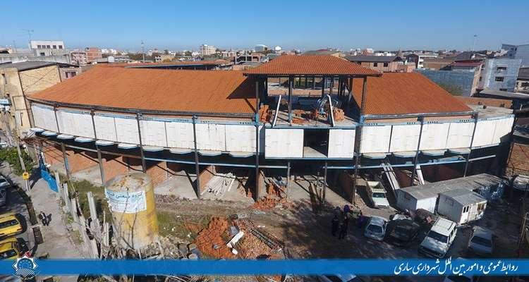 آغازتکمیل پروژه فاز سوم ابن شهر آشوب ساروی/ پیوند معماری و گردشگری