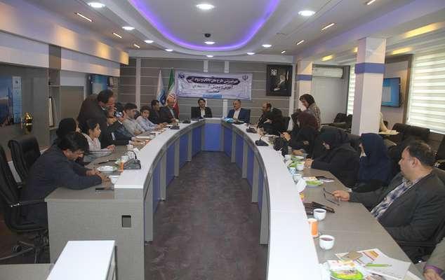 نشست هم اندیشی طرح داناب و طرح گسترش سواد آبی در استان البرز