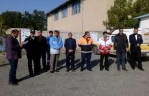 نمایش توان عملیاتی آبفار داورزن در مانور زلزله