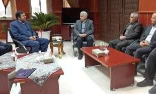 دیدار مدیرعامل شرکت مخابرات با شهردار بجنورد