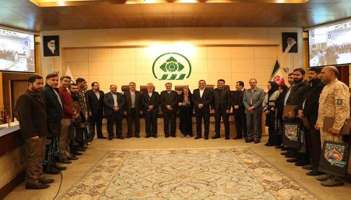 تجلیل شورای شهر شیراز از بسیجیان فعال و نمونه شیراز