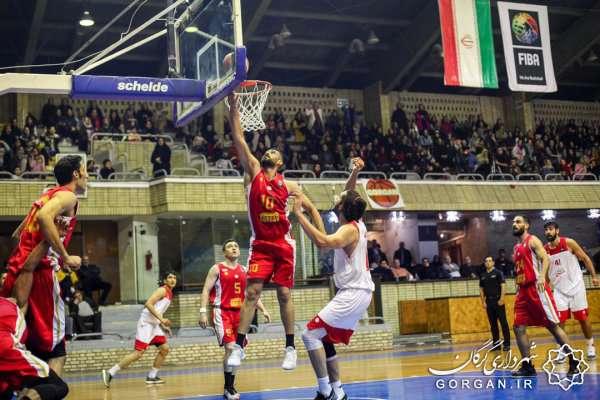 شکست بسکتبال شهرداری گرگان از مهرام تهران