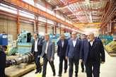 بازدید وزیر آب و انرژی تاجیکستان از کارخانجات شرکت مپنا