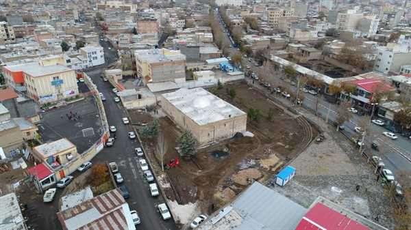 نگاهی به پروژه های عمرانی شهرداری خوی / گزارش تصویری