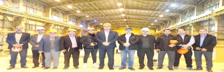 بازدید اعضای شورای اسلامی شهر سنندج از نیروگاه برق این شهر، به همراهی مدیر عامل جدید این نیروگاه،مهندس کمانگر