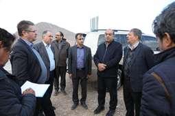 بازدید معاون شرکت ساخت و توسعه زیربناهای حمل و نقل کشور از پروژههای بزرگراهی استان کرمان