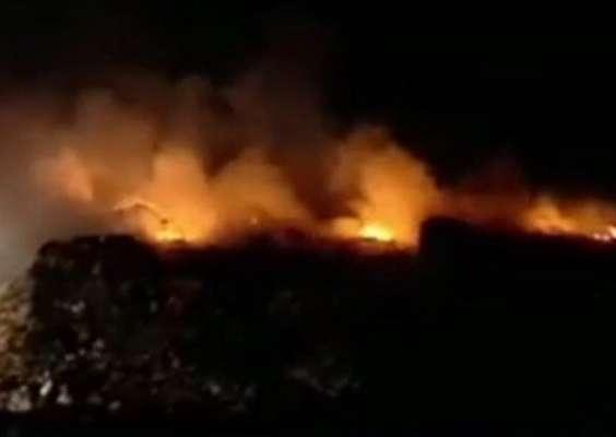 اطفاء۱۰۹ مورد پسماندسوزی در تهران در هفته گذشته / اتوبان تهران ساوه رکورد دار این معضل
