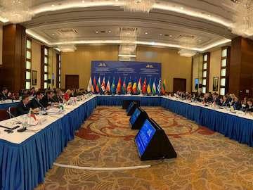 ایران در حال اجرای طرح ابتکاری شبکه ترانزیتی ایران است/ ضرورت افزایش سرعت مبادلات تجاری