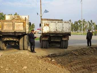 طرح توسعه میدان شهدای مهران