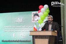 حضور رییس شورای شهر اهواز در بزرگداشت روز دانشجو