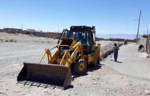 اصلاح و بازسازی بخشی از شبکه توزیع روستای کاریز حاج محمد جان شهرستان فریمان