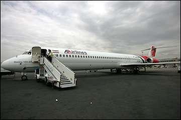 فرود اضطراری پرواز ساری-بندرعباس در فرودگاه مهرآباد/ هواپیما سالم فرود آمد