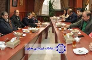 نشست مشترک شهرداربجنورد و ریاست سازمان نظام مهندسی استان