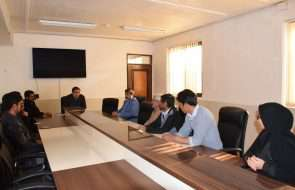برگزاری جلسه کارگروه وصول مطالبات در آبفار باخرز