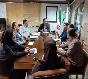 برگزاری جلسه مشترک مرکز بهداشت و امور آب و فاضلاب ...