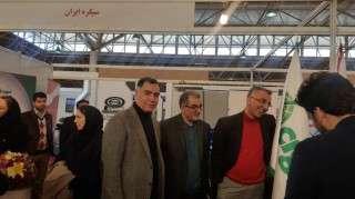 بازدید مدیرعامل شرکت برق منطقه ای زنجان از سی و چهارمین کنفرانس بین المللی صنعت برق