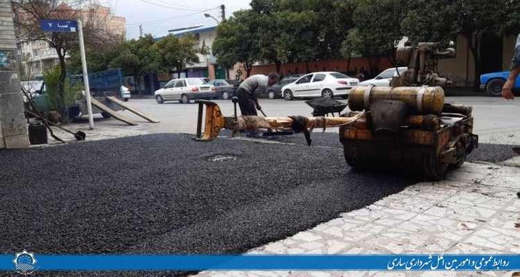 تحقق مطالبات شهروندی با عملیات آسفالت و بهسازی معابر شهری