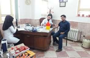 طرح آزمایشات ادواری سلامت کارکنان آبفار کاشمر، خلیل آباد و بردسکن اجرا شد